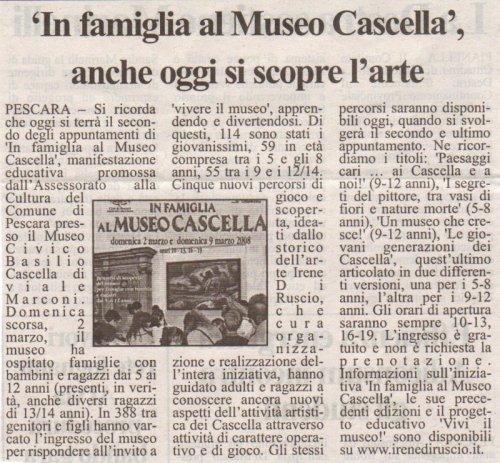 Tutto Abruzzo Oggi, domenica 9 marzo 2008