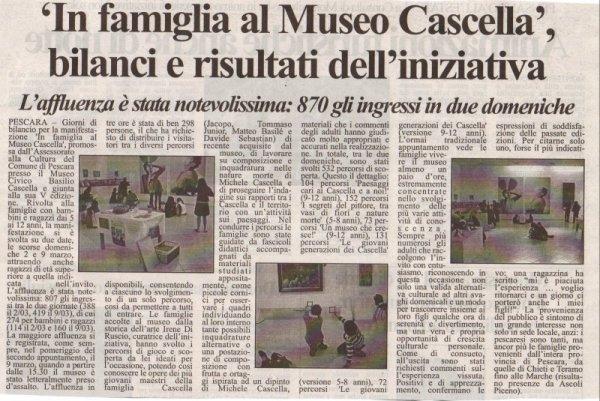Tutto Abruzzo Oggi, giovedi' 13 marzo 2008