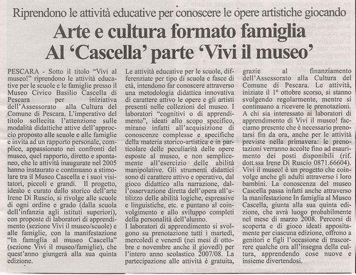 Tutto Abruzzo Oggi, mercoledi' 24 ottobre 2007